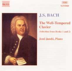 Jenö Jandó - Bach: The Well-Tempered Clavier (Selections from Books 1 & 2) flac