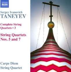 Carpe Diem String Quartet - Taneyev: Complete String Quartets, Vol. 3 flac