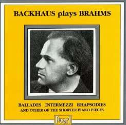 Wilhelm Backhaus - Wilhelm Backhaus Plays Brahms flac