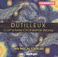 Yan Pascal Tortelier / BBC Philharmonic Orchestra - Dutilleux: Complete Orchestral Works flac